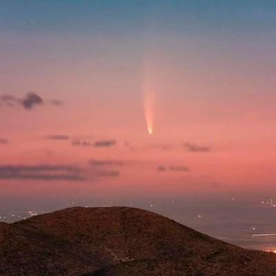 Galería: Así se vio el cometa Neowise en Zacatecas y alrededor del mundo