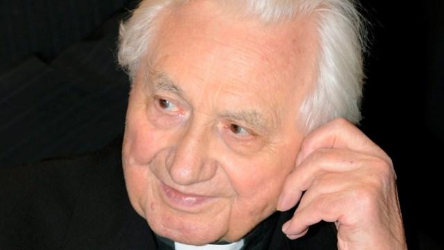 Georg Ratzinger, hermano mayor de Benedicto XVI