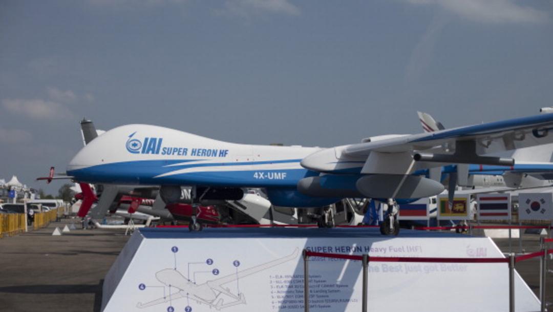 Avión no tripulado de Israel se estrella en Líbano