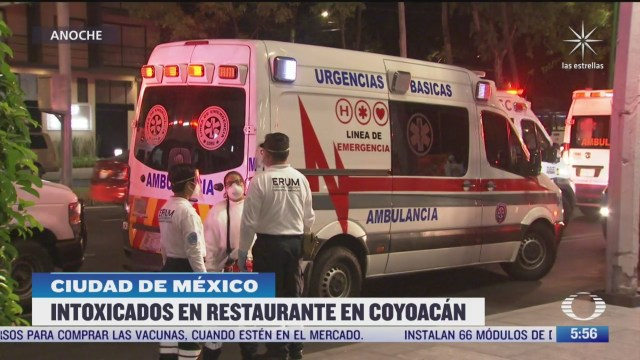 hospitalizan a paramedicos por intoxicacion en la cdmx