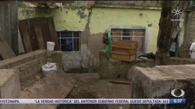 inundaciones en tlaquepaque jalisco originan danos a viviendas