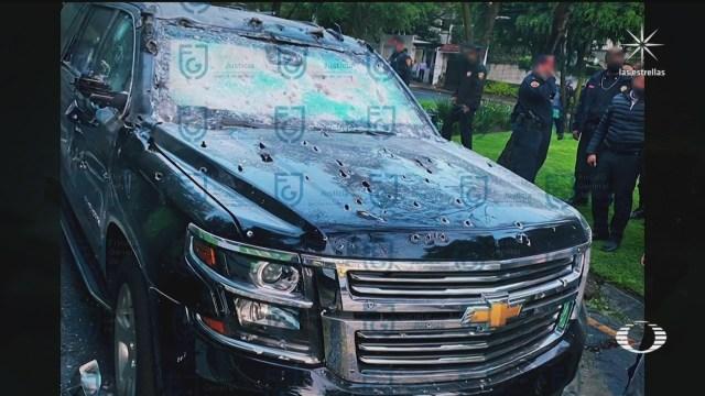 Investigan a policías de CDMX en atentado contra Harfcuh