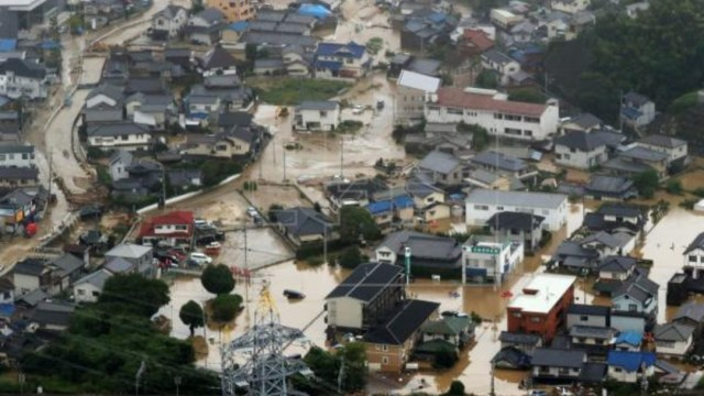 Japón Lluvias EFE