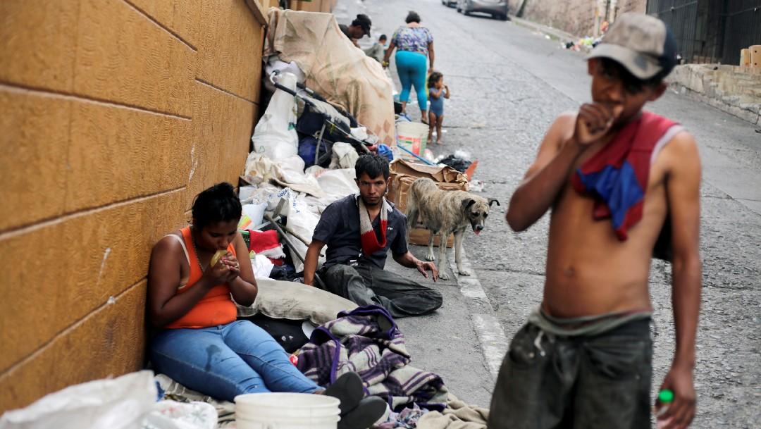 Jóvenes en situación de calle en Tegucigalpa