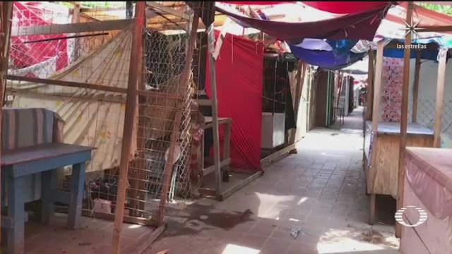 Juchitán Oaxaca en confinamiento para frenar contagios de COVID