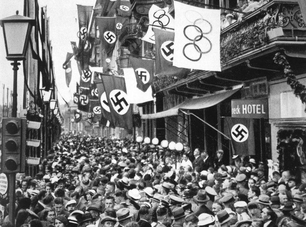 Juegos Olímpicos de Berlín 1936 antes de la Segunda Guerra Mundial