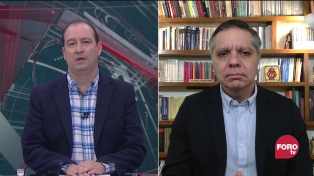 Mario Campos platica con Eduardo Bohórquez de la captura del exgobernador de chihuahua cesar duarte y la extradicion de emilio lozoya