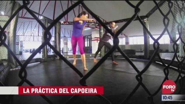 la practica de capoeira