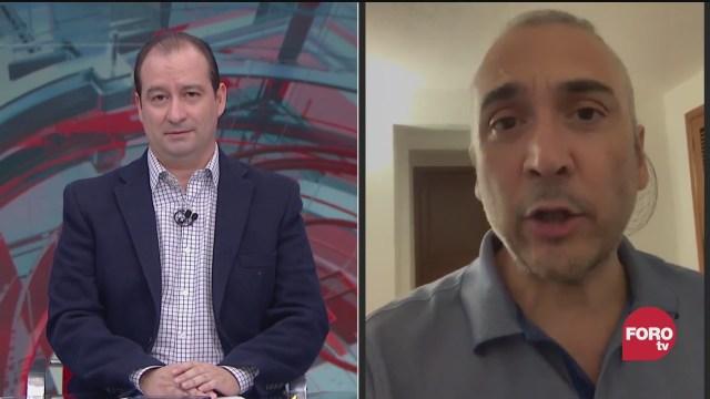 Mario Campos platica con Benito Nacif, ex-consejero electoral la sobre la seleccion de consejeros electorales y los tiempos para su eleccion