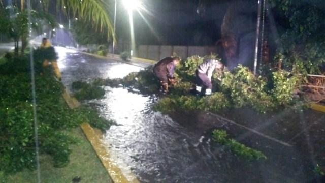 Lluvia intensa con granizo afecta Zona Metropolitana de Cuernavaca, Morelos