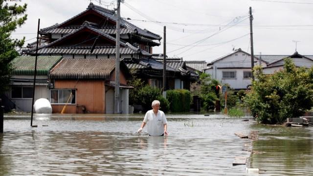 Lluvias torrenciales e inundaciones dejan 58 muertos en Japón