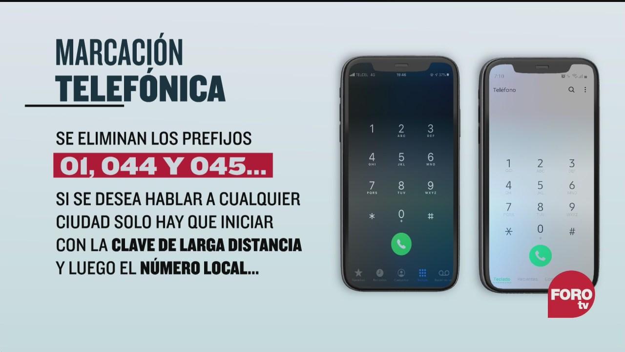 lunes 3 de agosto inicia en mexico nueva marcacion a 10 digitos