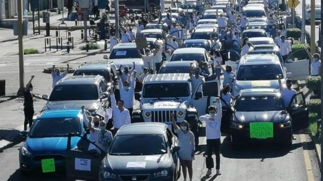 'Ya no importa el miedo': Miles marchan y rompen el silencio en Celaya contra la inseguridad