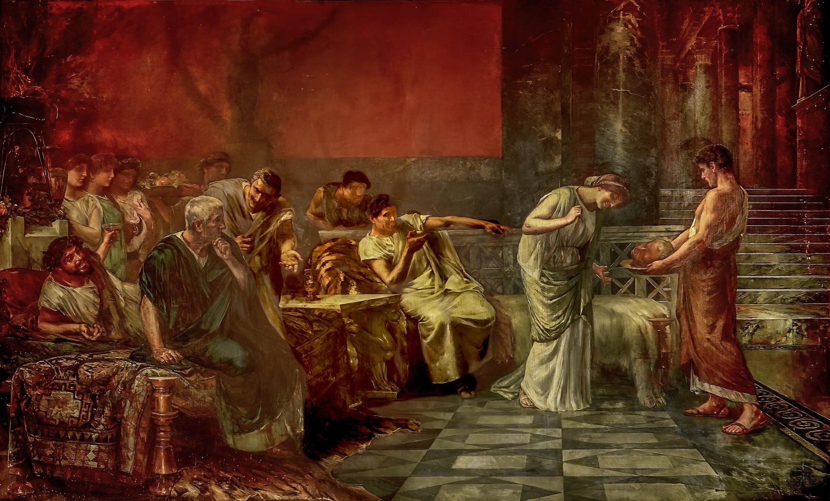 Cicerón, Marco Antonio, pintura