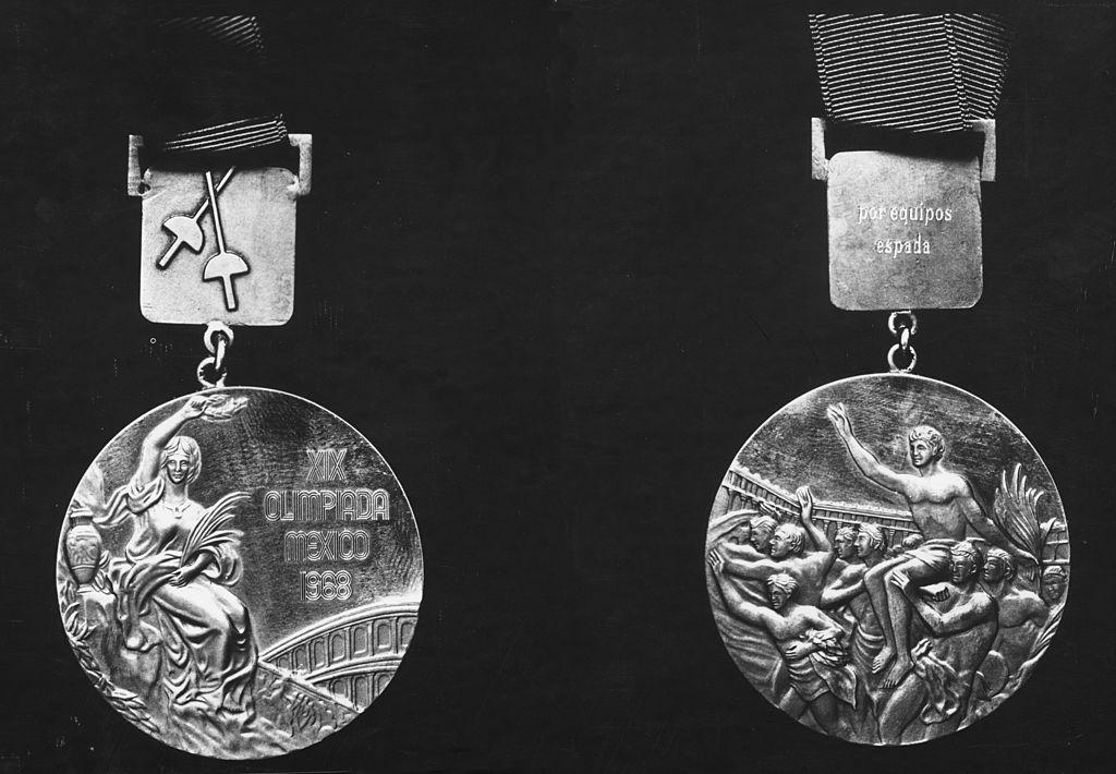 Medallas de los Juegos Olímpicos de la Ciudad de México 1968