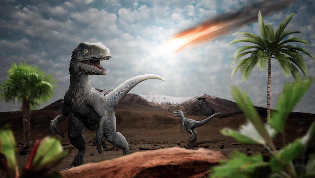 Un asteroide volvió inhabitable a la Tierra para los dinosaurios