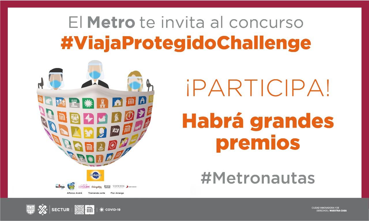 metro lanza reto para usuarios