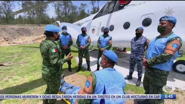México en las misiones de paz de la ONU