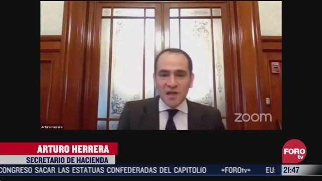 Arturo Herrera aegura que México no se endeudará para enfrentar pandemia