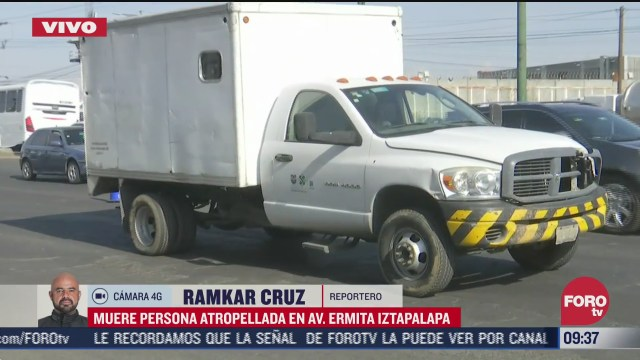muere mujer atropellada en la avenida ermita iztapalapa