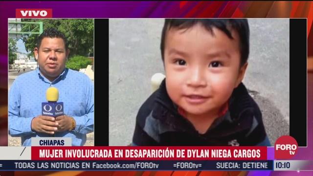 FOTO: 25 de julio 2020, mujer senalada de participar en desaparicion del nino dylan rechaza acusacion
