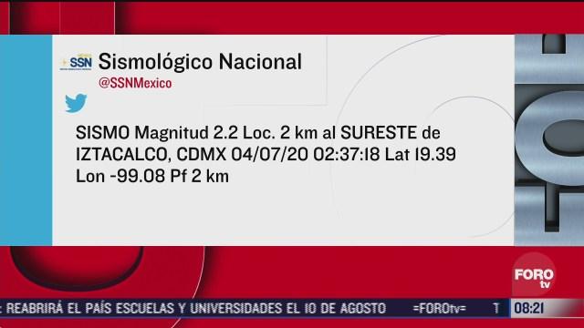 FOTO: 4 de julio 2020,ocurren dos microsismos en las ultimas horas en la ciudad de mexico