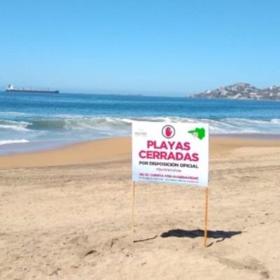 Playa-cerrada-colima-por-fuerte-oleaje