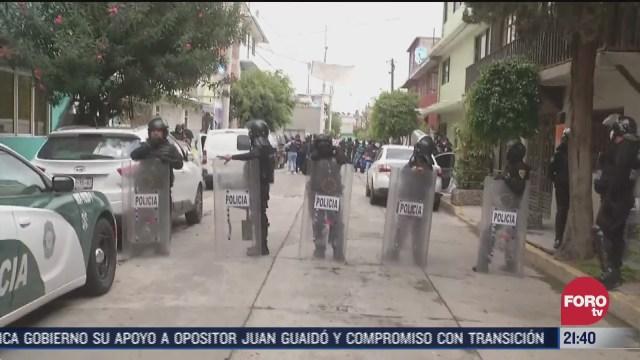 Policía CDMX realiza operativos contra narcomenudeo en la GAM