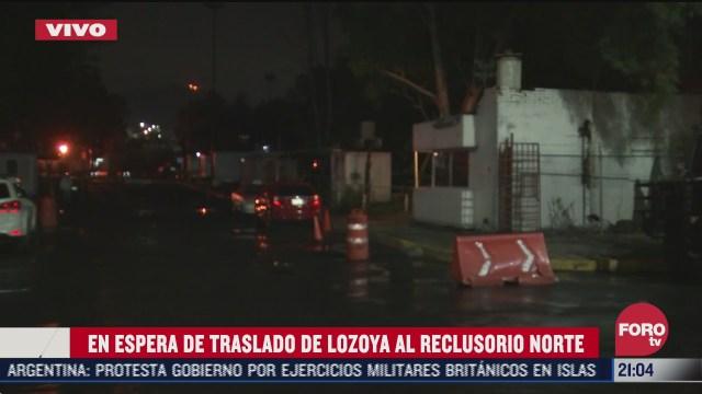 Policía de CDMX prepara traslado de Emilio Lozoya al Reclusorio Norte