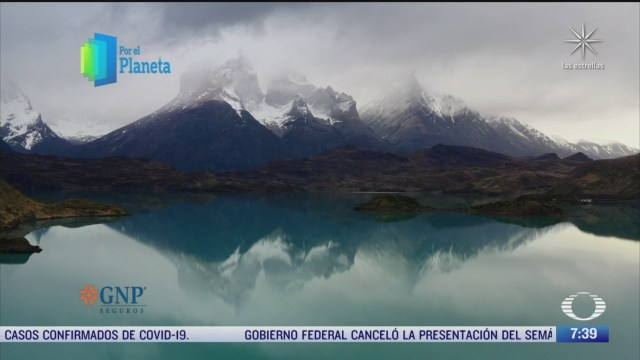 El Parque Nacional Torres del Paine, reserva de la biósfera en Chile