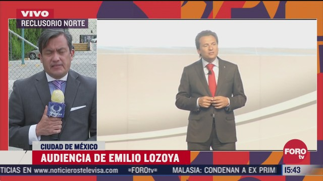 reanudan audiencia virtual de emilio lozoya