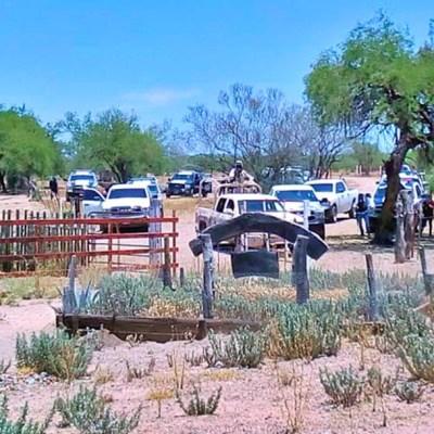 Rescatan a familia en Sonora