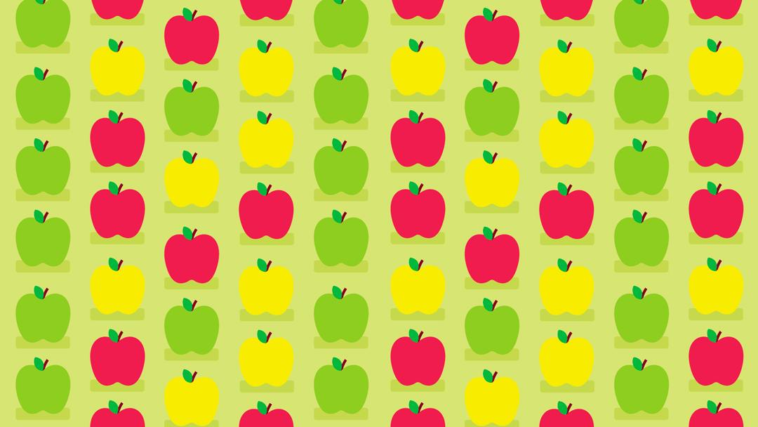 Reto visual Noticieros Televisa: encuentra las manzanas con gusano