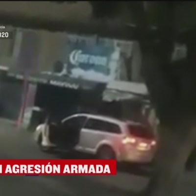 Se registra enfrentamiento en León, Guanajuato