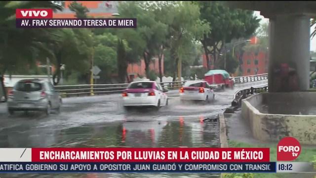 FOTO: 5 de julio 2020, se registra presencia de lluvia en 12 alcaldias de la cdmx