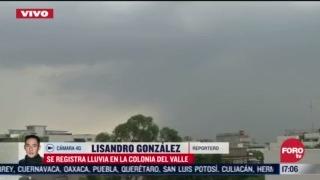 FOTO: 5 de julio 2020, se registra presencia de lluvia en varias alcaldias de la cdmx