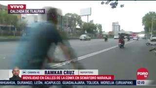 FOTO: 4 de julio 2020, se registra un incremento del trafico vehicular sobre calzada de tlalpan