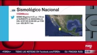FOTO: 12 de julio 2020, se reporta sismo de magnitud 4 6 en colima