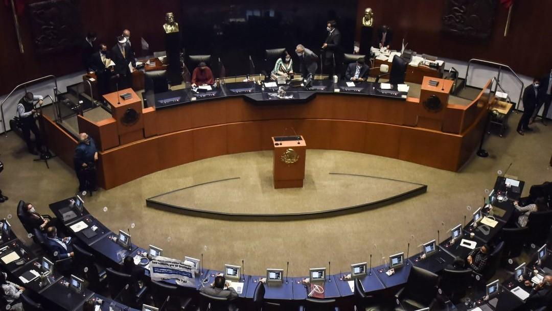 sesión extraordinaria en el senado de la república