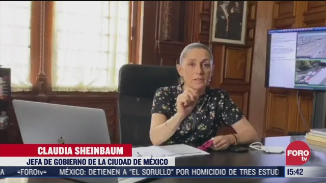 sheinbuam pide protegerse y proteger a los demas por semaforo naranja en cdmx