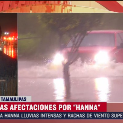Tras paso de 'Hanna' por Reynosa, voluntarios apoyan en medio de la pandemia