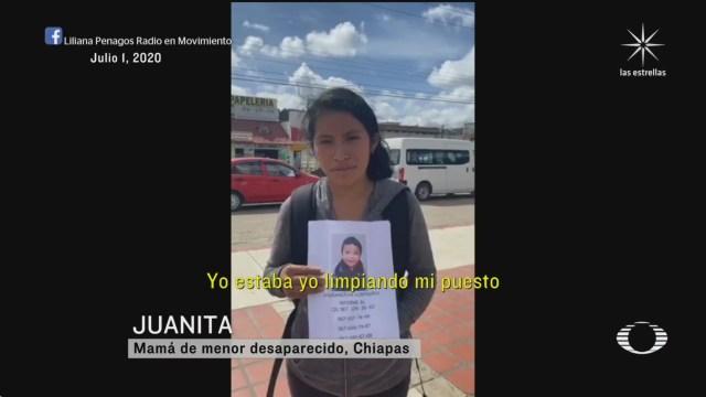 fotografía de Dylan bebé robado por una niña en San Cristobal de las Casa Chiapas