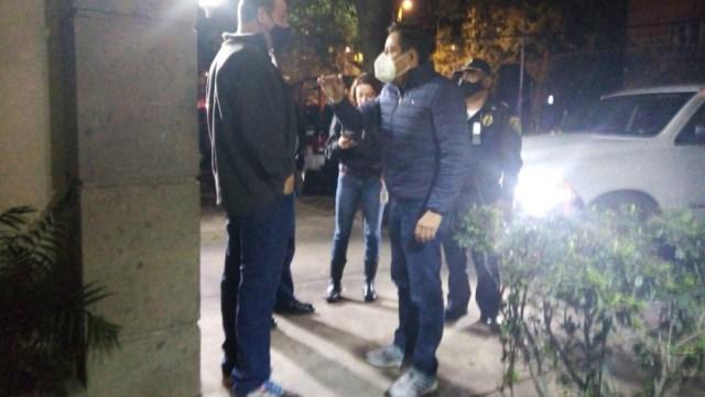 Vecinos de Polanco aplauden a policías por cancelar fiesta