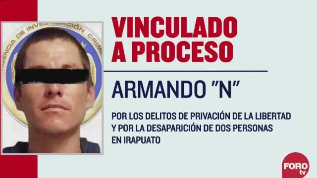 """Vinculan a procesos a Armando """"N"""", acusado de privación ilegal de la libertad"""