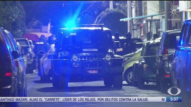 Mueren dos hombres baleados en la Ciudad de México