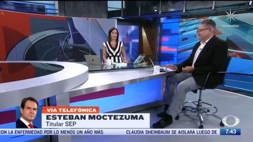 Entrevista con Esteban Moctezuma, para Despierta