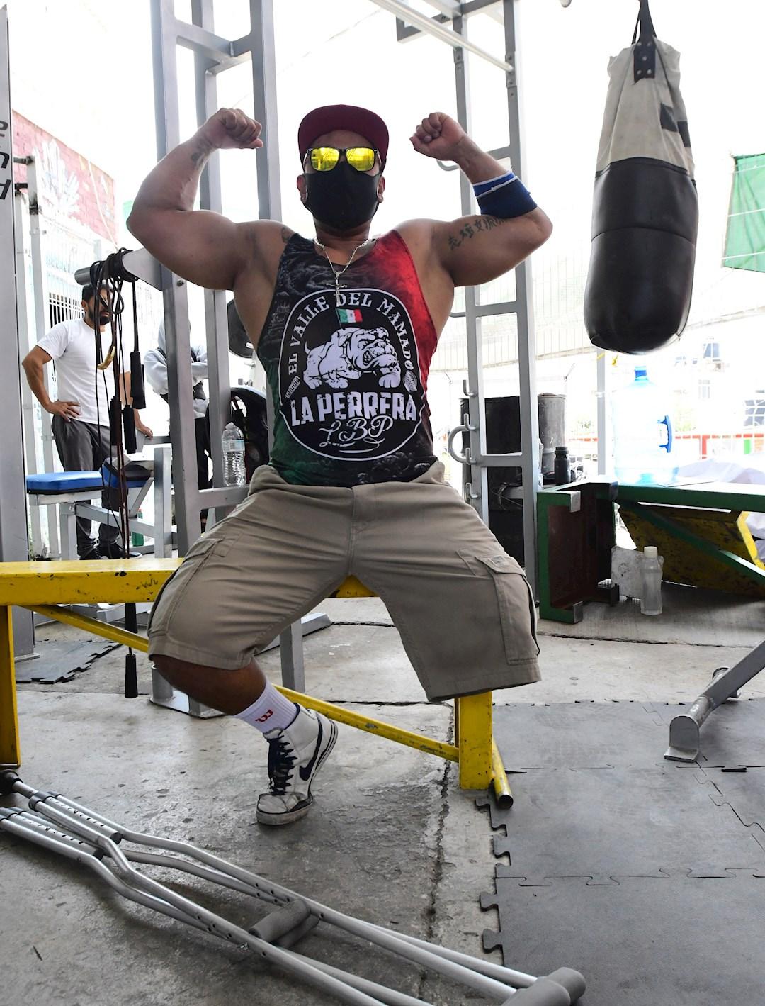 Paul Villafuerte entrena duro en Barras Praderas.