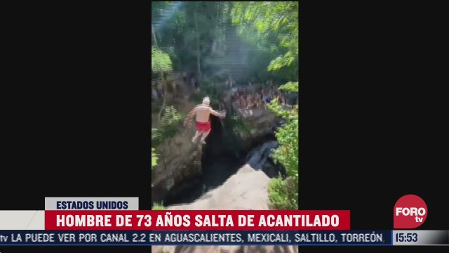 abuelito de 73 anos de edad salta de acantilado