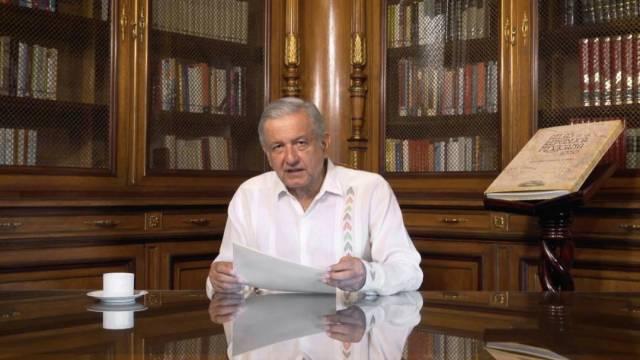 El presidente López Obrador destacó la creación de 15 mil empleos formales en lo que va de agosto