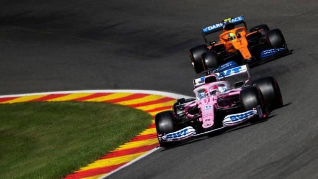 El mexicano Sergio 'Checo' Pérez saldrá octavo en el Gran Premio de Bélgica